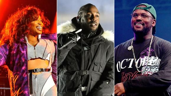 Kendrick Lamar, SZA & Schoolboy Q at Sunlight Supply Amphitheater