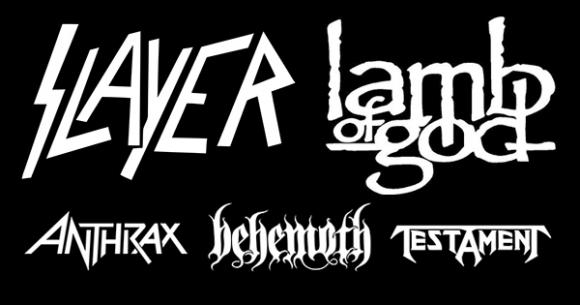 Slayer, Lamb of God & Anthrax at Sunlight Supply Amphitheater