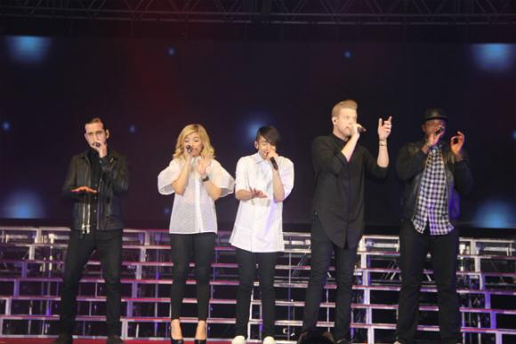 Pentatonix at Sunlight Supply Amphitheater