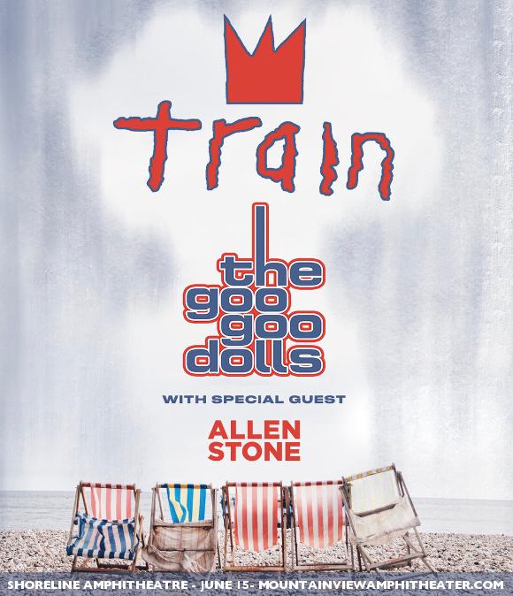 Train, Goo Goo Dolls & Allen Stone at Sunlight Supply Amphitheater