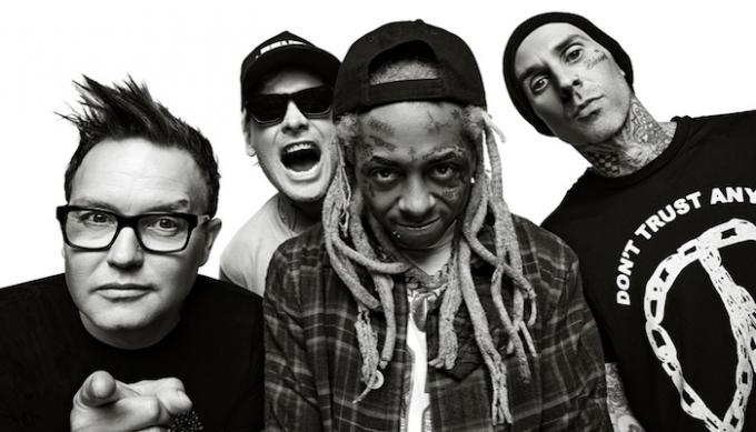 Blink 182 & Lil Wayne at Sunlight Supply Amphitheater