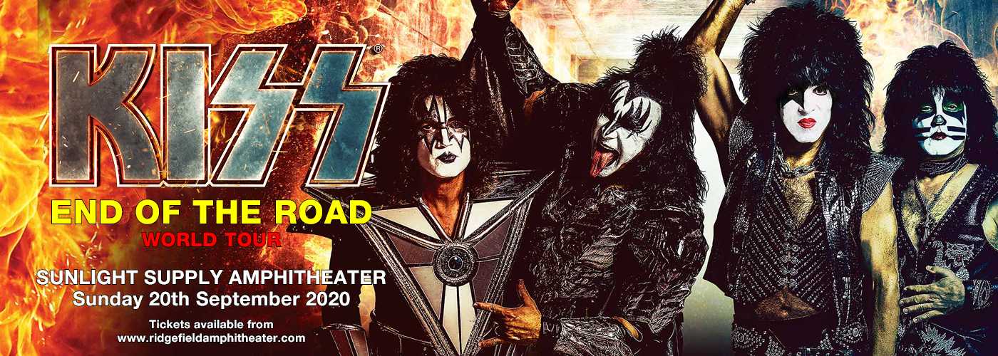 Kiss: the End of the Road World Tour at Sunlight Supply Amphitheater