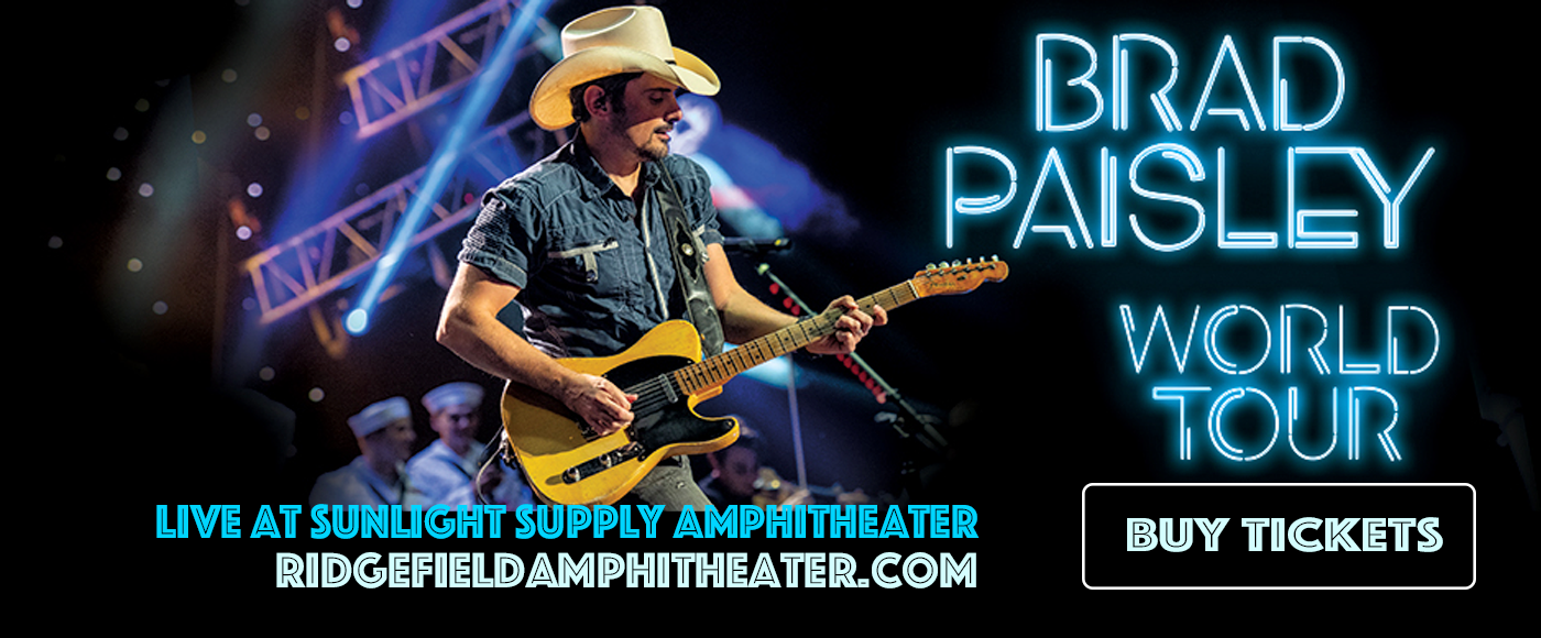 Brad Paisley, Jordan Davis & Gabby Barrett at Sunlight Supply Amphitheater