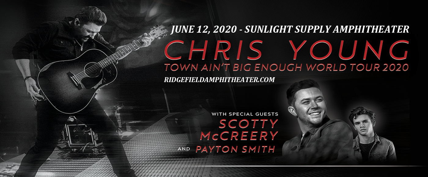 Chris Young, Scotty McCreery & Payton Smith at Sunlight Supply Amphitheater