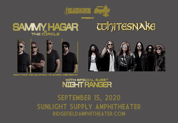 Sammy Hagar and the Circle & Whitesnake at Sunlight Supply Amphitheater