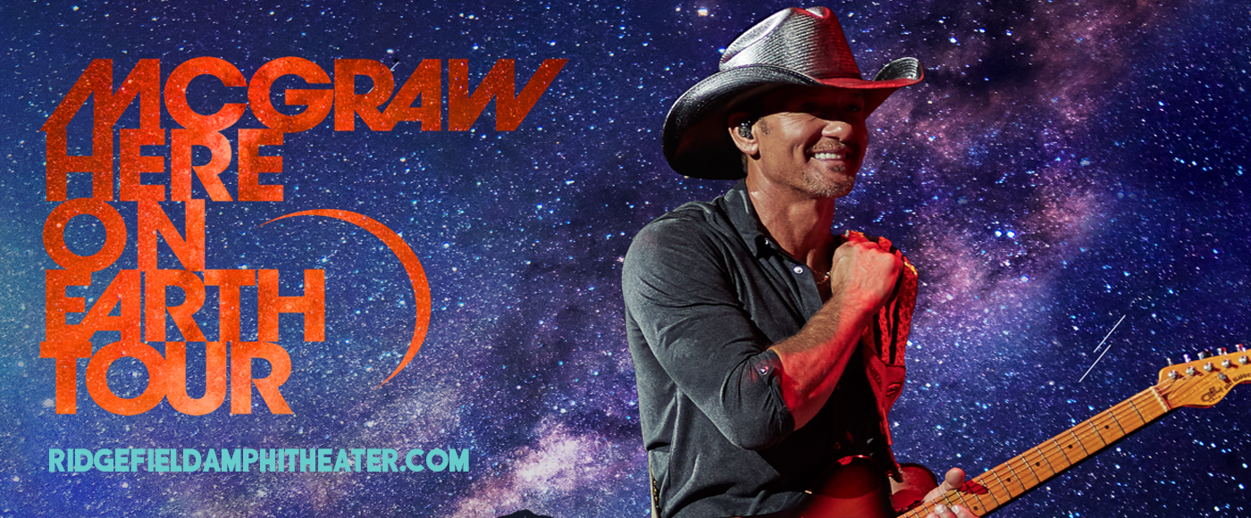 Tim McGraw [CANCELLED] at Sunlight Supply Amphitheater