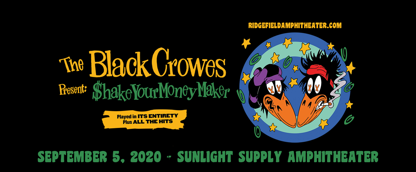 The Black Crowes [POSTPONED] at Sunlight Supply Amphitheater