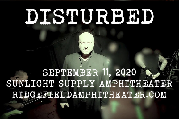 Disturbed, Staind & Bad Wolves [POSTPONED] at Sunlight Supply Amphitheater