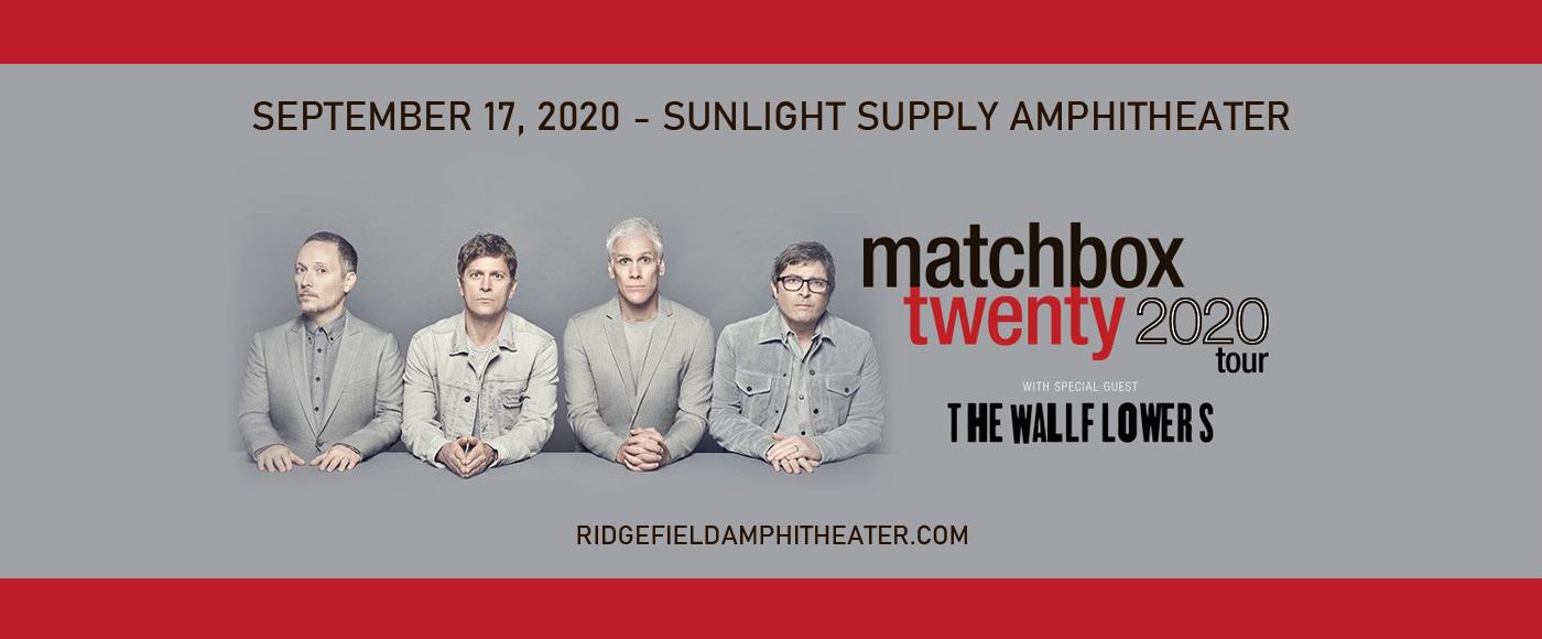 Matchbox Twenty & The Wallflowers [POSTPONED] at Sunlight Supply Amphitheater