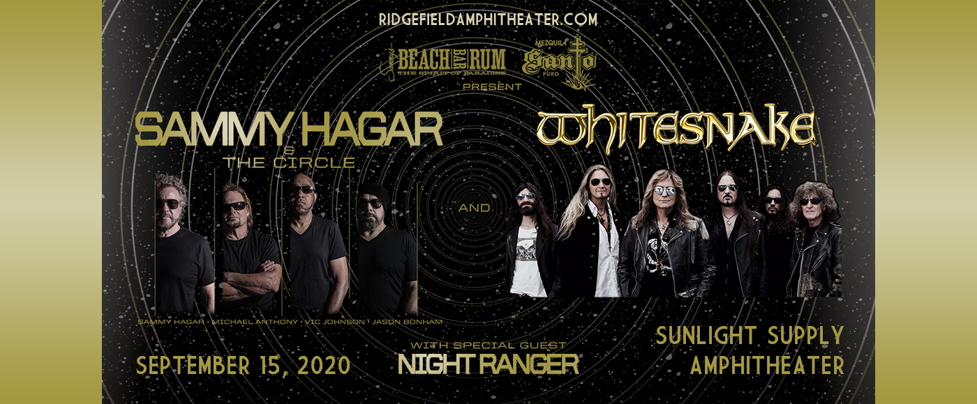 Sammy Hagar and the Circle & Whitesnake [CANCELLED] at Sunlight Supply Amphitheater