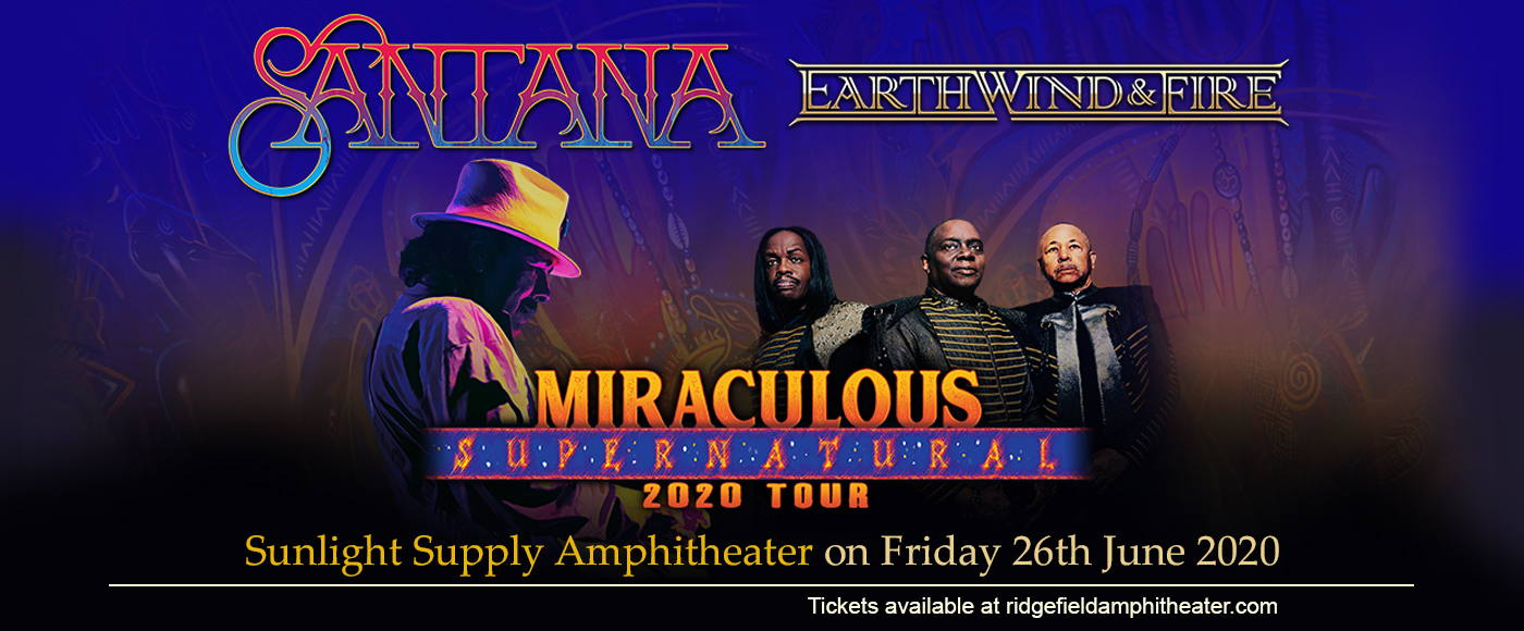 Santana & Earth, Wind and Fire at Sunlight Supply Amphitheater