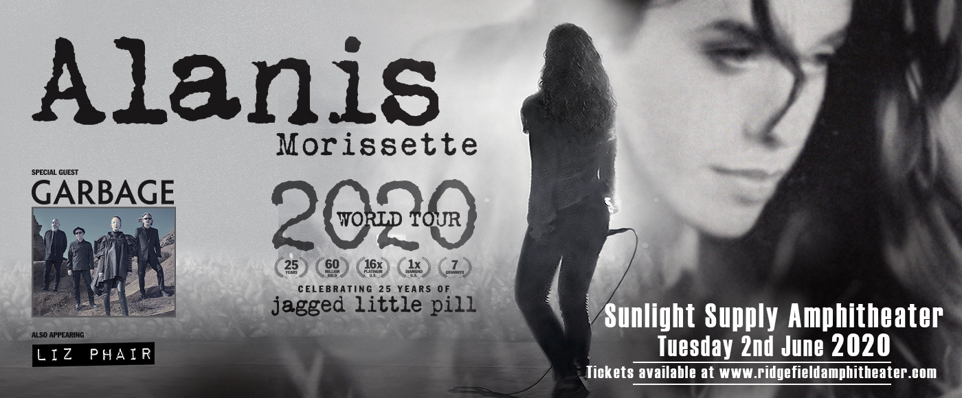 Alanis Morissette at Sunlight Supply Amphitheater