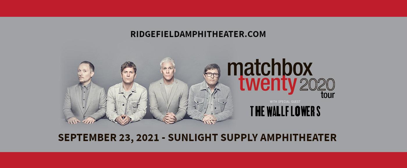 Matchbox Twenty & The Wallflowers at Sunlight Supply Amphitheater
