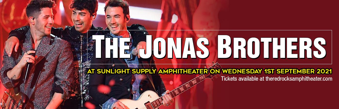 The Jonas Brothers at Sunlight Supply Amphitheater