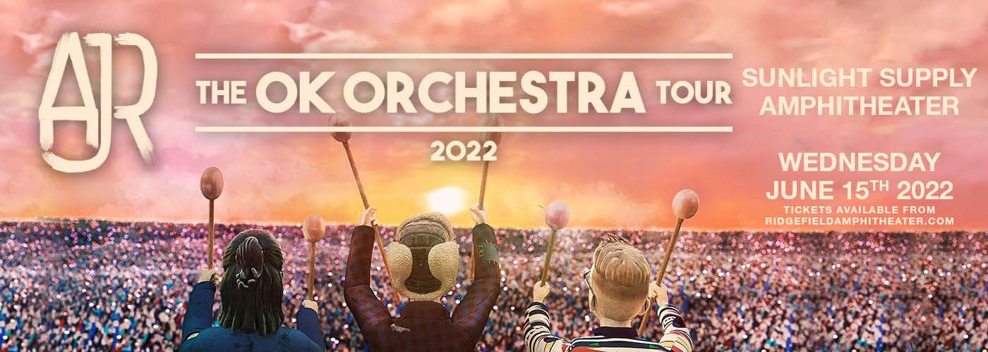 AJR: OK ORCHESTRA Tour at Sunlight Supply Amphitheater