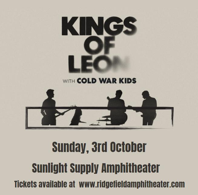 Kings of Leon at Sunlight Supply Amphitheater