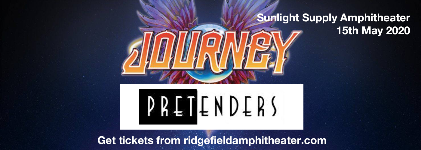 Journey & The Pretenders at Sunlight Supply Amphitheater