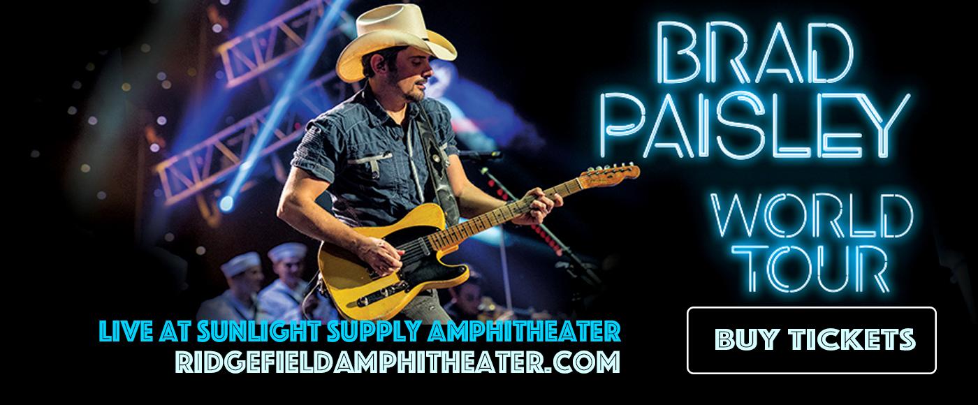 Brad Paisley, Jordan Davis & Gabby Barrett at Sunlight Supply Amphitheater