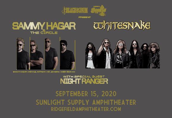 Sammy Hagar and the Circle & Whitesnake [CANCELLED] at Sunlight Supply Amphitheater