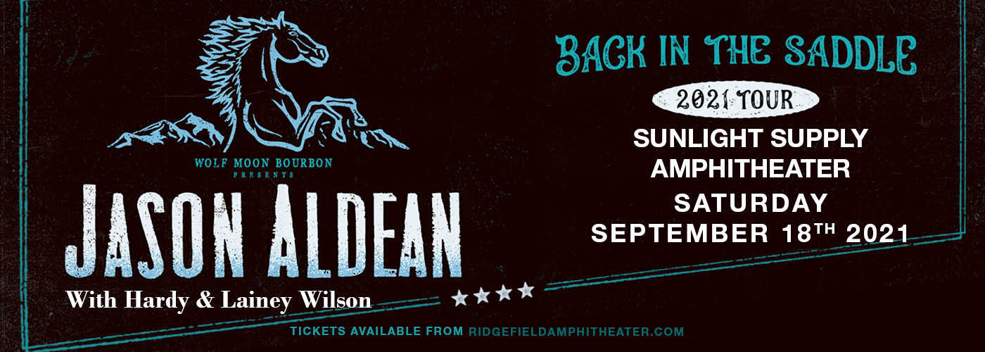 Jason Aldean: Back In The Saddle Tour at Sunlight Supply Amphitheater