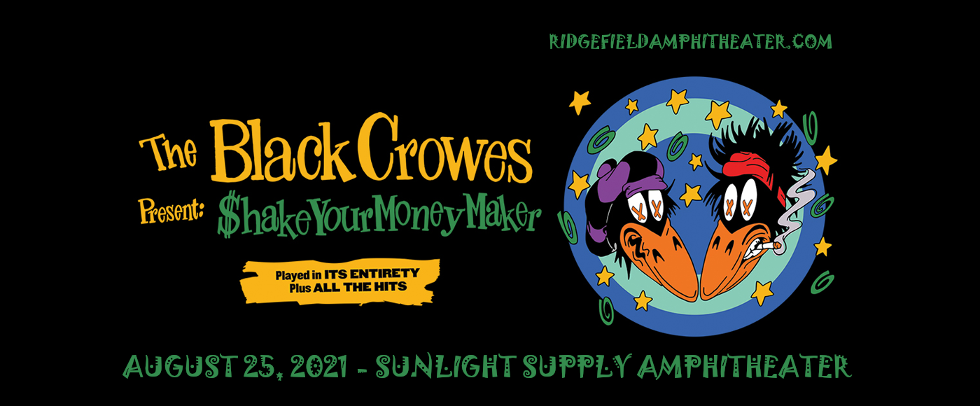 The Black Crowes at Sunlight Supply Amphitheater